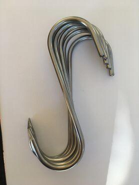 Stainless steel meat hooks  6